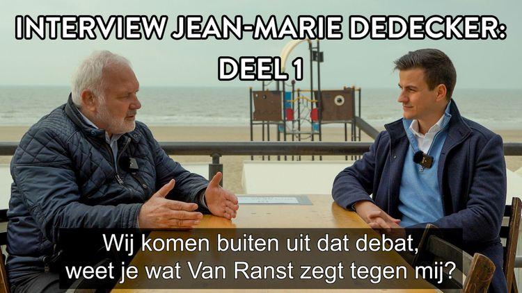 Interview Jean-Marie Dedecker: Deel 1