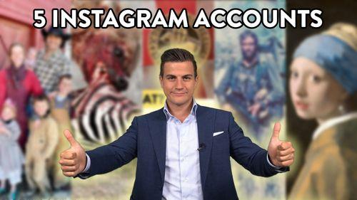 5 instagram accounts
