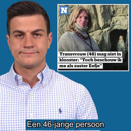 Transgender eist toegang tot nonnenklooster